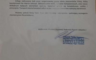 MALINOWSKI, PLACHTA & WSPÓLNICY