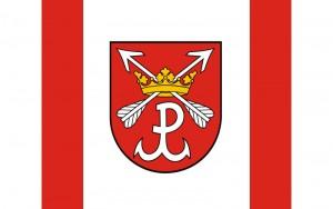 Łomianki flaga